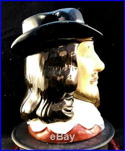 Royal Doulton Character Jugs King charles I & Oliver Cromwellr D6985&86