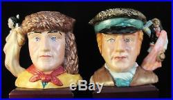 Royal Doulton Character Jugs Lewis & Clark D7234 & D7235