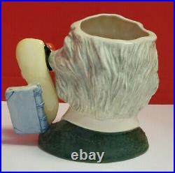 Royal Doulton Character Toby Jug. ALBERT EINSTEIN D7023 Large