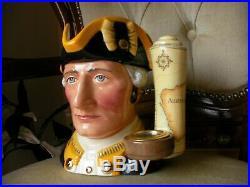 Royal Doulton Character Toby Jug Captain James Cook Limited Edition RARE