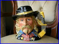 Royal Doulton Character Toby Jug General Armstrong Custer D7079 US Cavalry