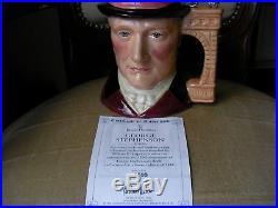 Royal Doulton Character Toby Jug George Stephenson Limited Edition RARE