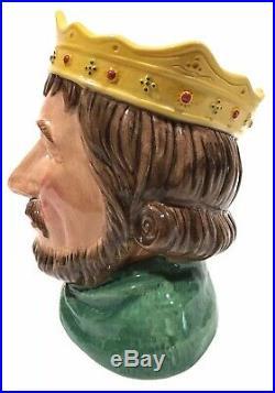 Royal Doulton Character Toby Jug KING JOHN #719 of 1500 Limited D7125 Mint
