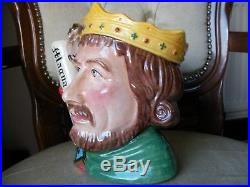 Royal Doulton Character Toby Jug King John D7125 Limited Edition MINT