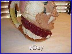 Royal Doulton Character Toby Jug Mug The Clown 1950 -rare