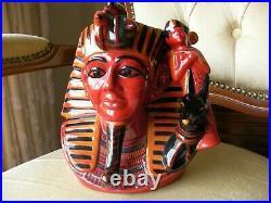 Royal Doulton Character Toby Jug Pharaoh Flambe Limited Edition D7028 MINT