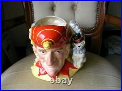Royal Doulton Character Toby Jug Punch and Judy MINT Limited Edition D6946