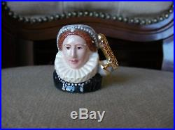 Royal Doulton Character Toby Jug Rare Kings and Queens Tiny Tinies Set MINT