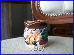 Royal Doulton Character Toby Jug Tiny Tinies Tobies Set MINT Rare