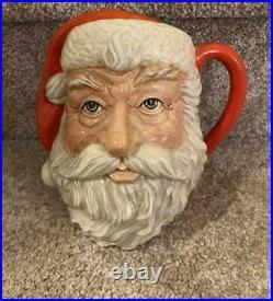 Royal Doulton Character Toby Mug Santa Claus D6704 Jug Mug 7 1983 Ho Ho Ho