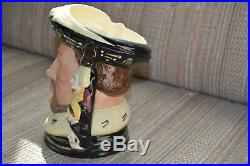 Royal Doulton Character jug King Henry VIII D6888 LE 1991 Pristine One owner