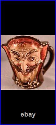 Royal Doulton Character jug Rare Mephistopheles with verse