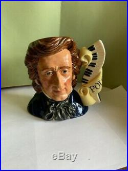 Royal Doulton Chopin Character Jug Signed By Michael Doulton Excell. Condition