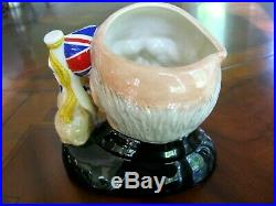 Royal Doulton Churchill D6907 Character Jug of the Year 1992 Mint Condition