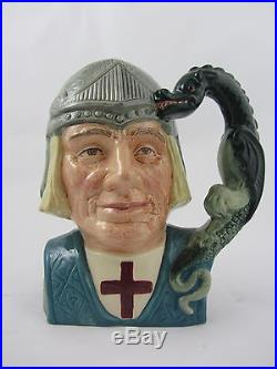 Royal Doulton Classics Character Jug St. George Large D6618