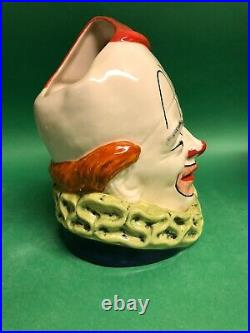 Royal Doulton Clown with Bucket 1988 Prototype Character Jug Museum sale