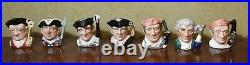 Royal Doulton Colonial Williamsburg Toby Character Jugs Complete Set of 21