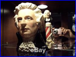 Royal Doulton Composers Mozart Large Character Toby Jug / D7031/ England c. 1996