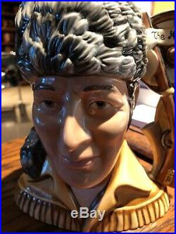 Royal Doulton Crockett Character Jug