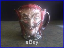 Royal Doulton D5758 Character Mug / Jug MEPHISTOPHELES with Verse Rare