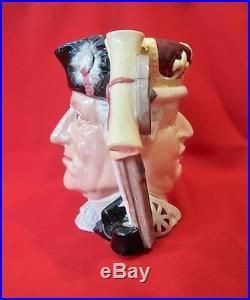Royal Doulton D6749 George III and George Washington Large character jug (#1240)