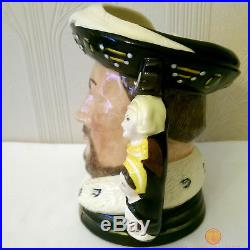 Royal Doulton D6888 King Henry VIII Large Character Jug Limited Edition of 1991