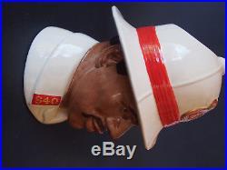 Royal Doulton D6912 Bahamas Policeman Character Figure Jug Special Edition 7.5