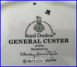 Royal Doulton D7079 Large General Custer Toby / Character Jug 1997