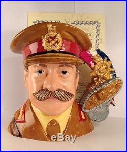 Royal Doulton D7231 General Haig Large Character Jug 27/100