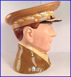 Royal Doulton D7264 General Macarthur Rare Large Character Jug 45/100