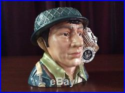 Royal Doulton D7268 WWII Large Character Jug Limited Edition #3 Of 100