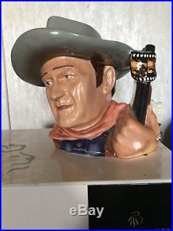 Royal Doulton D7269 John Wayne 2007 Character Jug of The Year
