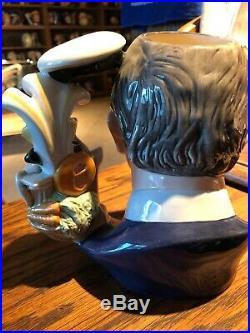 Royal Doulton D7283 Prince Charles 2008 Large Character Jug Of The Year