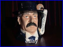 Royal Doulton D7296 Lord Neville Chamberlain Large Character Jug Ltd Edition