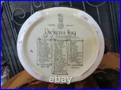 Royal Doulton Dickens Dream Characters' List Presentation Jug Pitcher Noke 1933