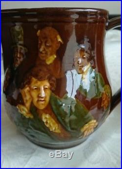 Royal Doulton Dickens Memories Character Dewars Kingsware Whisky Jug Antique