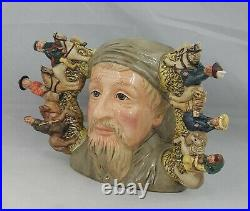 Royal Doulton Double Handled Character Jug Geoffrey Chaucer D7029 large Ltd Ed