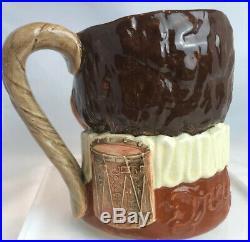 Royal Doulton Drake Character Jug Mug Hatless-Rare