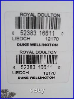 Royal Doulton Duke Wellington Toby Character Jug D7170 withBox & COA Ltd Ed 1000