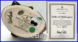 Royal Doulton Duke of Wellington Character Jug D7170 Large Limited Ed Signed