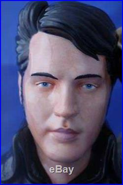Royal Doulton Elvis Presley'stand Up' Character Toby Jug Ep5 L/e New & Boxed