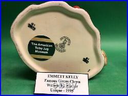 Royal Doulton Emmet Kelly Clown 1995 Prototype Character Jug Museum sale