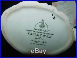 Royal Doulton England 1995 CHARACTER TOBY JUG MUG CAPTAIN BLIGH D 6967 Large