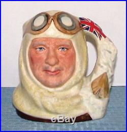 Royal Doulton England 7 Large Character Toby Jug Captain Scott D7116 EXCELL
