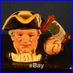 Royal Doulton Explorers Character Jugs Excellent Condition But See Description