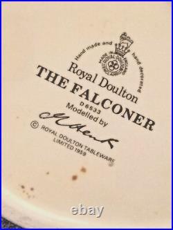 Royal Doulton Falconer Large Character Jug D6533