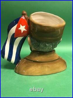 Royal Doulton Fidel Castro Prototype Character Jug Museum sale