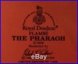 Royal Doulton Flambé Pharaoh Character Jug D7028