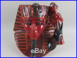 Royal Doulton Flambe The Pharaoh Character Jug Limited D7028