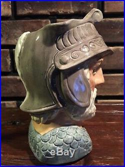 Royal Doulton GLADIATOR D. 6550 8 Character Toby Jug Large Rare